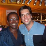 Myself and Dave Skinner from Musicstop Aug24 2003