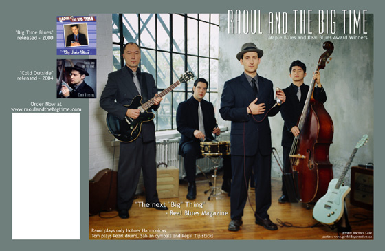 Raoul and The Big Time poster