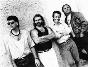 Dave Dobson Band 1992 - Myself, Andy Quinlan, Dave, George Antoniak