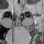 High School on a Pearl Export Drumkit 1985