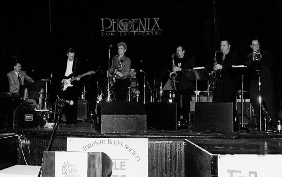 Maple Blues Award Band 2002, Photo: Bill King