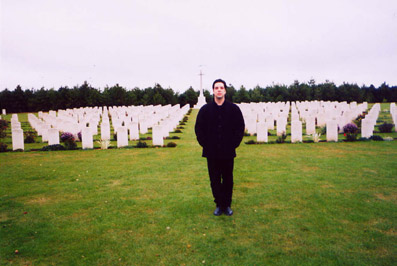 Canadian War Memorial Cemetery, France 2003