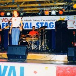 Sarah McElcheran, Damhnait Doyle, Myself and Chris Tait in PEI 1998